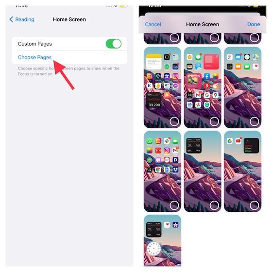 Customize Home screen