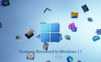 Features Removed in Windows 11
