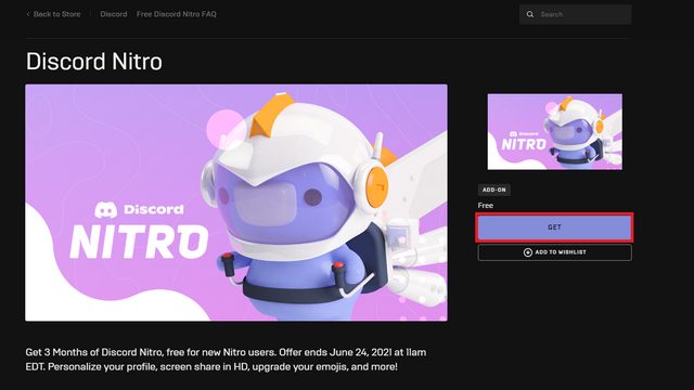 Get Discord Nitro for Free