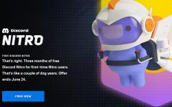 Get Discord Nitro for Free on Epic Games Store