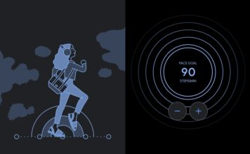 Google fit paced walking feature
