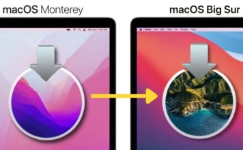 How to Downgrade from macOS 12 Monterey to macOS Big Sur new