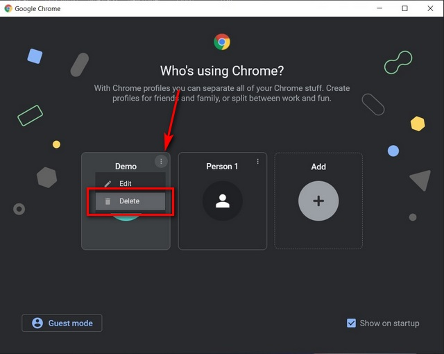 How to Remove and De-link Google Account From Chrome