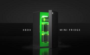 Microsoft Launches an Xbox Series X-Shaped Mini Fridge