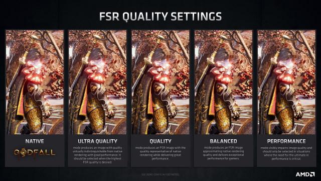 FSR Modes