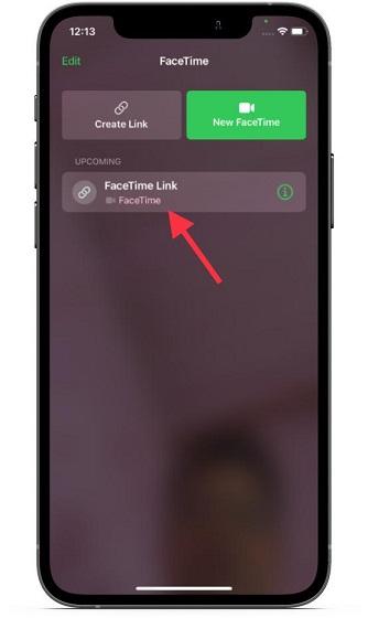 Neuer FaceTime-Link