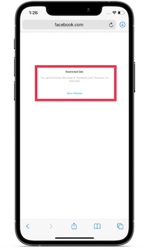 Now block all shady websites in Safari