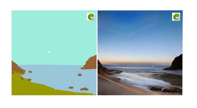 Nvidia Canvas yapay zeka aracı
