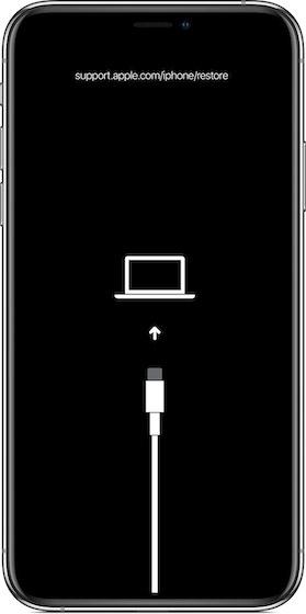 Versetzen Sie das iPhone in den Wiederherstellungsmodus