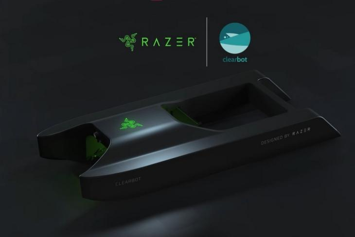 Razer and clearbot partners to develop ocean celaning robot