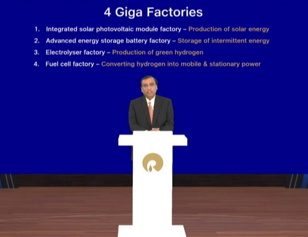 Reliance Is Building a Solar Giga Factory in India