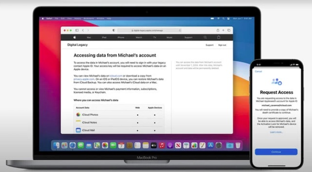 Request Access to a Deceased Family Member's Account Data - Apple Digital Legacy