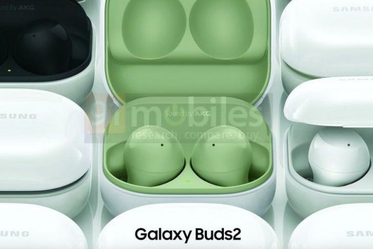 Samsung Galaxy Buds 2 Leaked Renders Reveal New Case Design