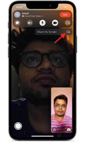 Meinen Bildschirm teilen - So verwenden Sie die Bildschirmfreigabe in FaceTime unter iOS 15