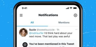 Twitter unmention yourself feature