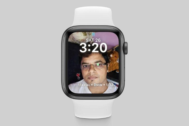 So stellen Sie das Zifferblatt für Porträts in watchOS 8 auf der Apple Watch ein
