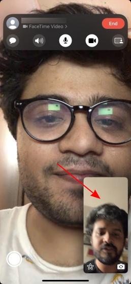 blur background in facetime video calls 1