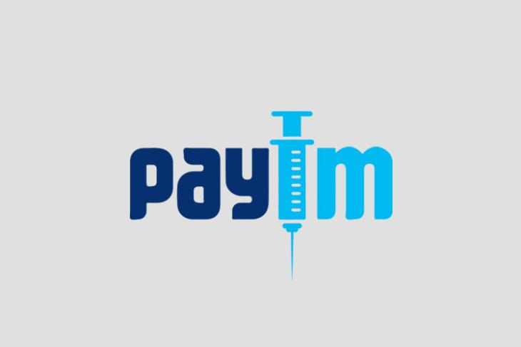 book vaccine appointment on Paytm
