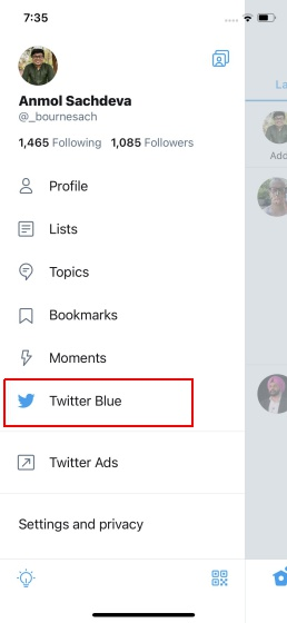 buy twitter blue subscription