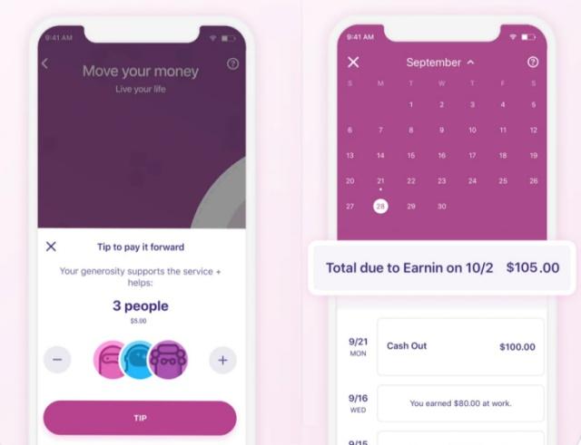 earnin cash advance app