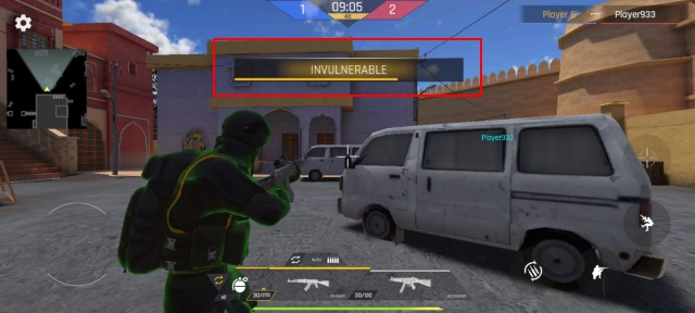 fau-g invulnerable players on respawn
