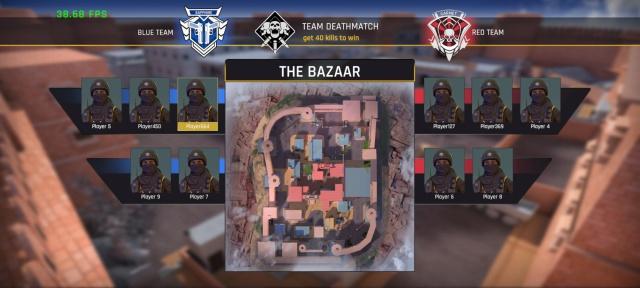fau-g tdm objective - bazaar map