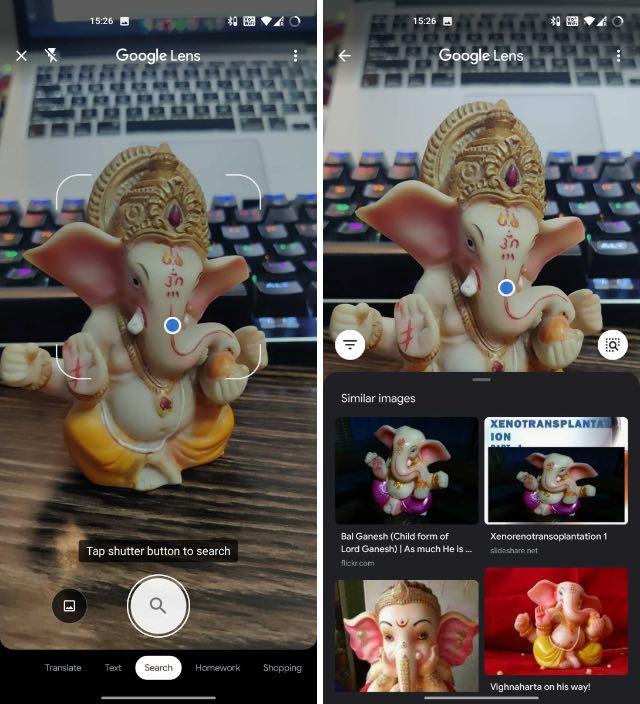 google lens object recognition