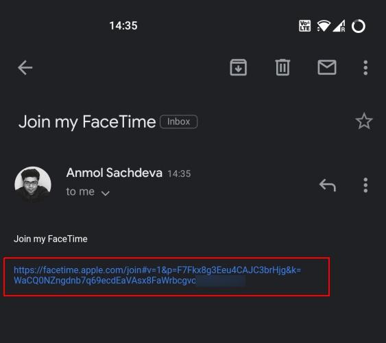 So verwenden Sie Facetime auf Android 1