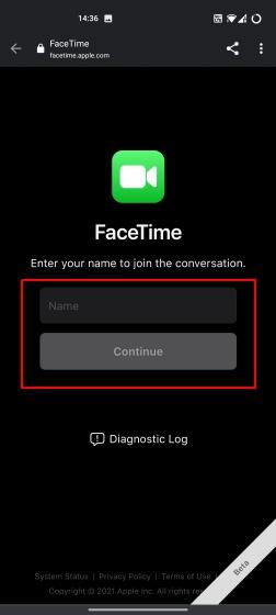 So verwenden Sie Facetime auf Android 2