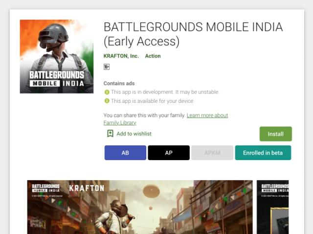 install battlegrounds mobile india 2