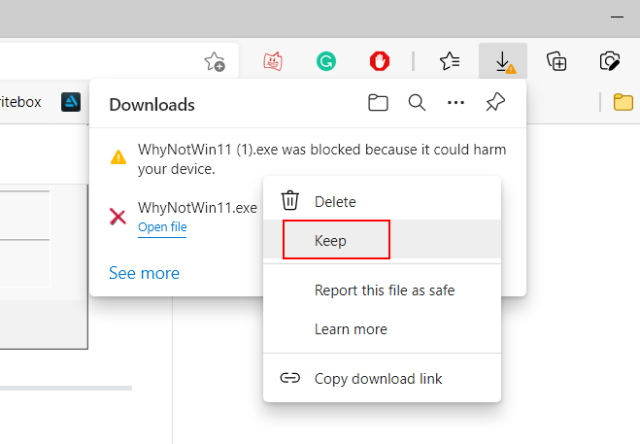install whynotwin11 app