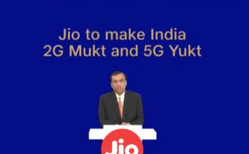 jio google 5G partnership