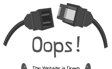 many large websites down due to server failure