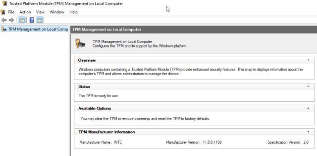 Überprüfen und aktivieren Sie den TPM-Chip auf Ihrem Windows-PC (2021)