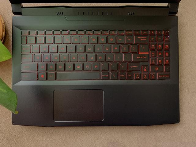 msi katana gf66 keyboard