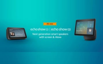 new echo show speakers launched in India