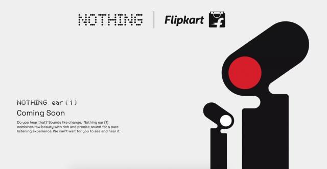 nothing ear 1 TWS earphones flipkart