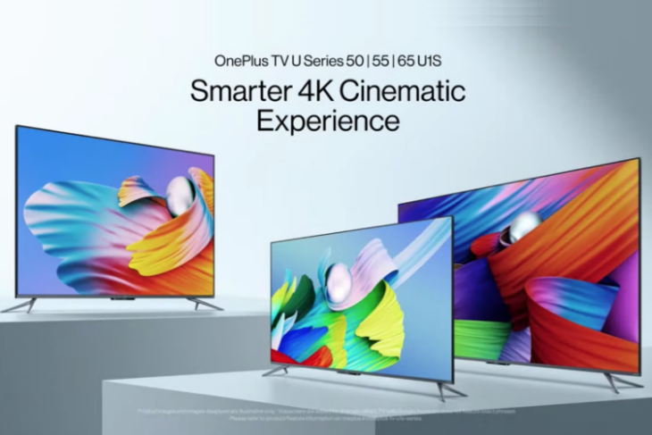 oneplus TV U1S series launched in India