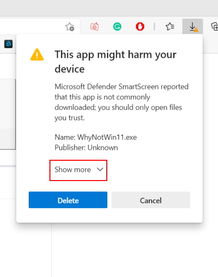 pc can't run windows 11 – new whynotwin11 app install