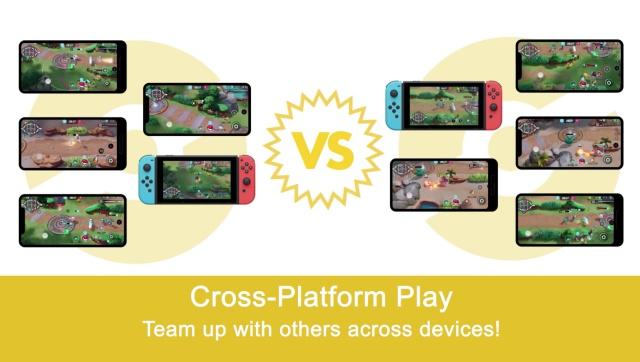 pokemon unite supports crossplay