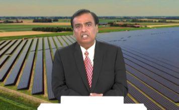 reliance solar giga factory setup in india