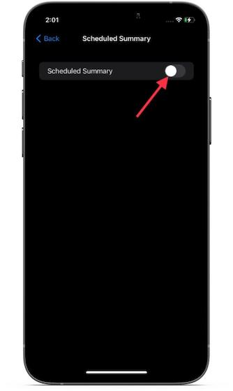 Geplante Zusammenfassung aktivieren - Benachrichtigungszusammenfassung in iOS 15 auf dem iPhone aktivieren/deaktivieren