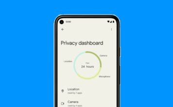 what is privacy dashboard in Android 12