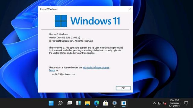 windows 11 winver
