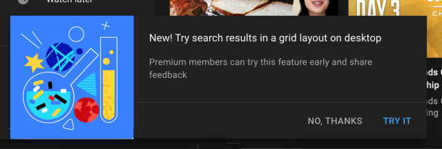 youtube grid search