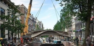 The MX3D Bridge Is the World's First 3D Printed Bridge