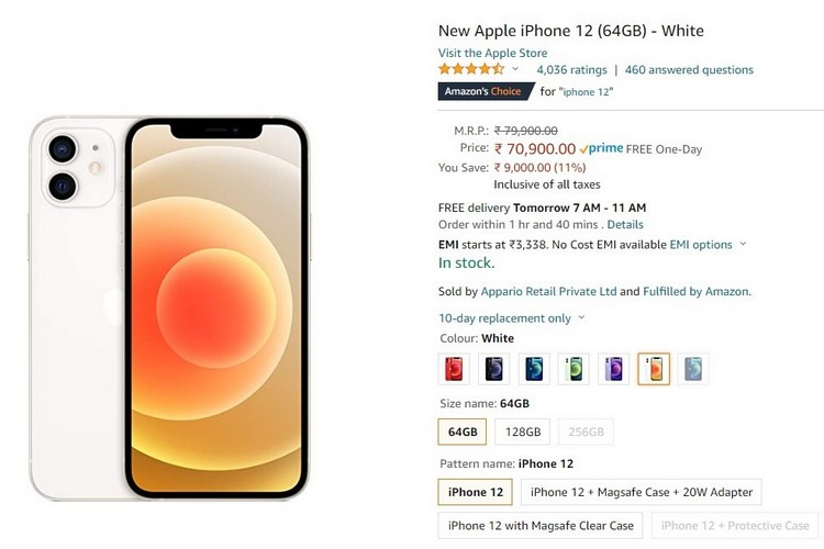 Amazon Is Offering Heavy Discounts on iPhone 12, MacBooks Ahead of Its Prime Day Event
