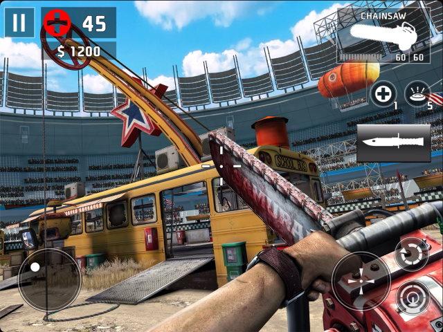 dead trigger 2 best ipad games