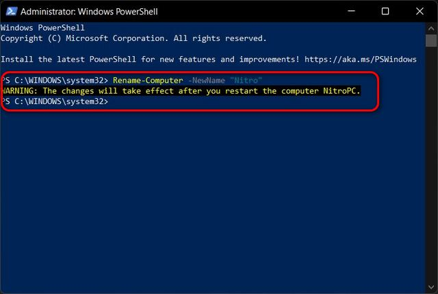 How to Change Your Computer Name in Windows 11 rename windows 11 pc