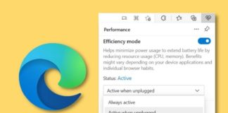 How to Enable or Disable Efficiency Mode in Microsoft Edge